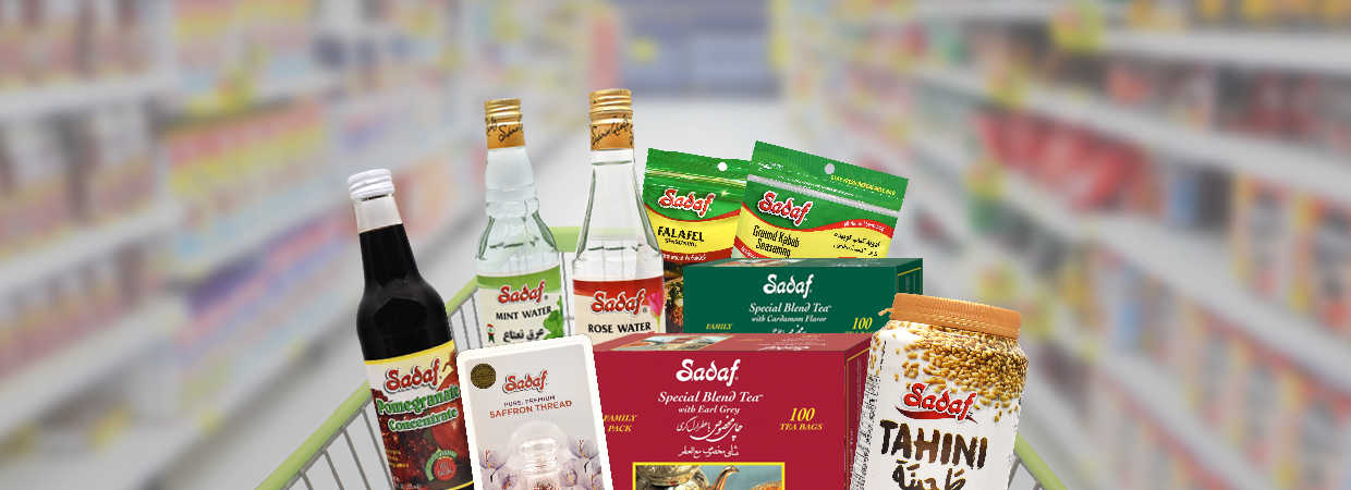 Sadaf Products Cart Promotion Banner