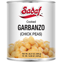 Image for Sadaf Garbanzo Beans can 800gr