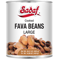 Image for Sadaf Fava Beans in can 800g